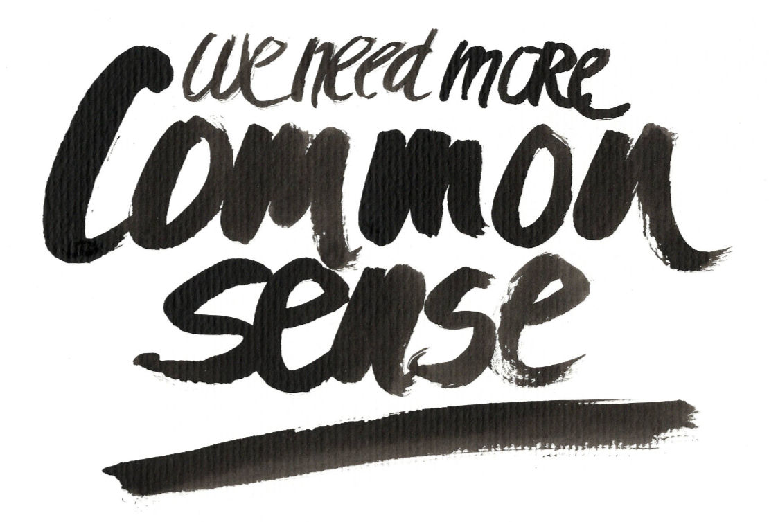 Concept 02- CCA – Use Common Sense in Context & BE Accountable