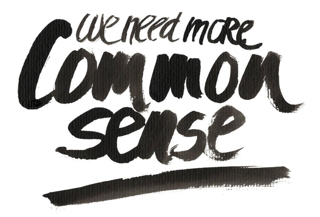 Concept 2- CCA – Use Common Sense in Context & BE Accountable