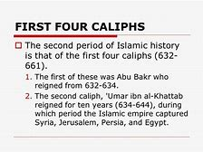 Concept 365 -major Periods in Islamic History