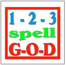 why spell spell god using 4 letters
