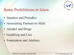 Concept 340 -The Commandments or Prohibitions in Islam