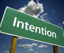 IS your Intention as important or more important than the actual deed itself or does it not matter