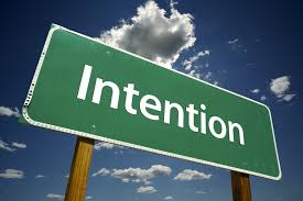 Concept 20 – IS your Intention as important or more important than the actual deed itself or does it not matter