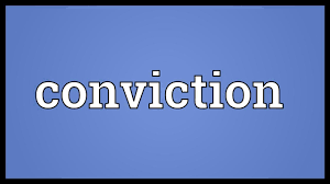 Concept 37 do you have a conviction?