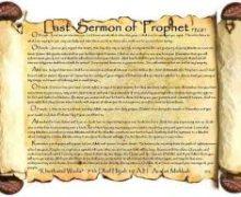 Prophet's Last Sermon
